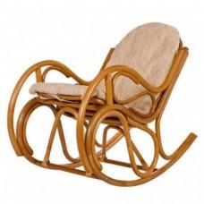Кресло-качалка Bella с подушкой. Ротанг