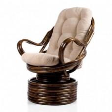 Кресло-качалка Davao с подушкой. Ротанг