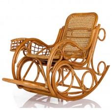 Кресло-качалка Novo люкс. Ротанг