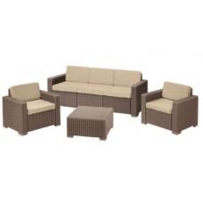 Комплект пластиковой мебели California 3