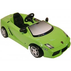 Детский электромобиль Lamborghini Gallardo с электрическим мотором 12V