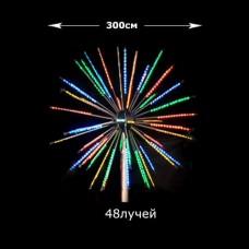 Световой фейерверк, диаметр 3 м