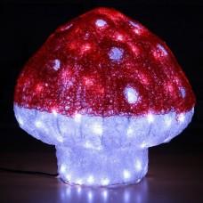"3D-LED Фигура ""Мухомор маленький"", 40 см"