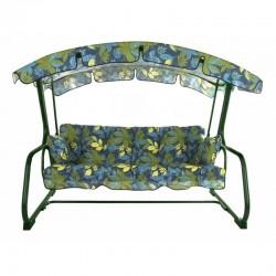 Качели садовые Вега 4 места, с подушками