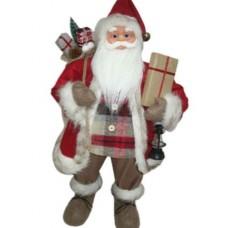 Фигура Дед Мороз высота 81 см (красный, черный)
