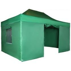 Быстросборный тент 4336 3х4,5м зеленый