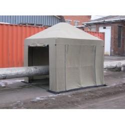 Палатка сварщика 2,5х2,5 м (брезент)