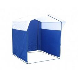 Торговая палатка «Домик» 2х2 каркас из трубы 25 мм, тент ПВХ