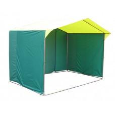 Торговая палатка «Домик» 2х2 каркас из трубы 25 мм