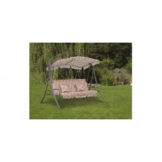 Качели садовые Вена раскладывемые с подушками в комплекте, 3 места