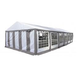 Шатер павильон 5х12 м белый, серый