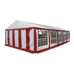 Шатер павильон 5х10 м белый, красный