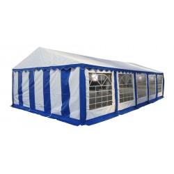 Шатер павильон 5х10 м белый, синий