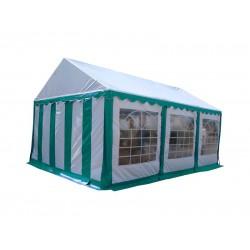 Шатер павильон 4x6 м Белый, зеленый