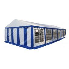 Шатер павильон 5х12 м белый, синий