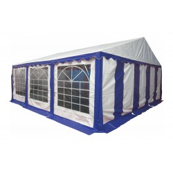 Шатер павильон 6x6 м  Синий, белый