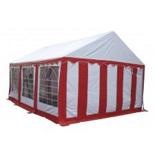 Тент шатер 3x6 м  красный