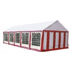 Шатер павильон 4x10 м Красный, белый