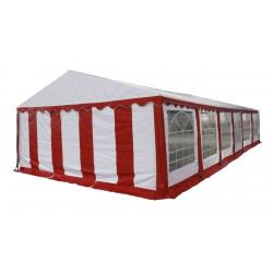 Шатер павильон 6х12м  Красный, белый