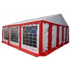 Шатер павильон 6х6 м  Красный, белый