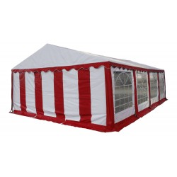 Шатер павильон 6x8 м  Белый, красный