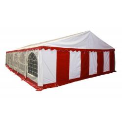 Большой шатер павильон 8х12 Белый, красный