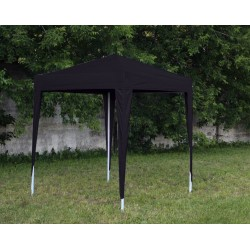 Тент шатер быстросборный 2х2 со стенками черный
