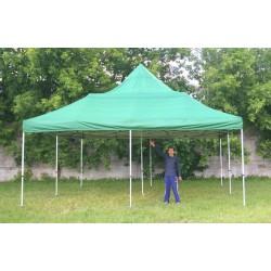 Шатер-гармошка, 6х6м, зеленый