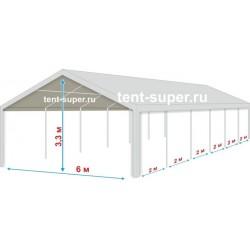 Большой шатер «Супер» 6х12м, со стенками