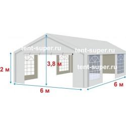 Шатер «Супер» 6х6 м, со стенками