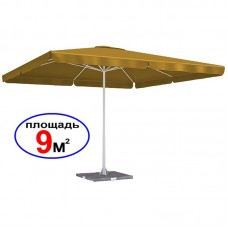 "Зонт ""Квадрат"", светло-бежевый, 3х3 м"
