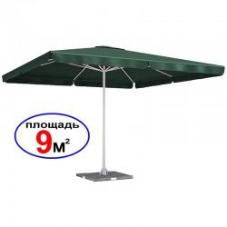 """Зонт """"Квадрат"""", зеленый, 3х3 м"""