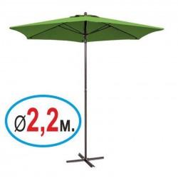 Зонт «Стандарт» зеленый, диаметр 2,2 м