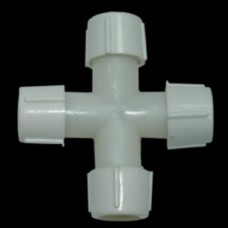 """Коннектор крестовой для LED шнура """"Дюралайт"""" (IP44)"""