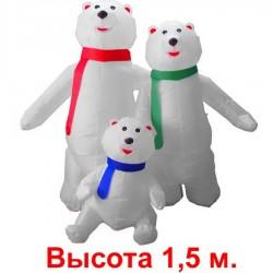 "Надувная фигура ""Три медведя"", 1.5м"