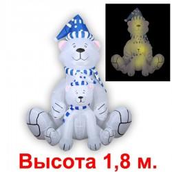 """Надувная фигура """"Белые медведи"""", 1.8м"""