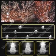 LED-CLIP LIGHT 100м, шаг 15см, 666 мерцающих светодиодов (без колпачков)