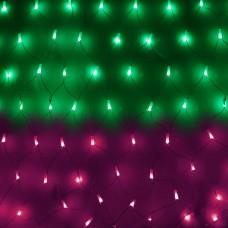 LED-э.г.-сетка в матовых колпачках, 2Х2м