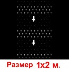 LED-сетка «Водопад» - 240 светодиодов, 1х2м