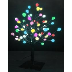 LED-Дерево настольное «Шарики», разноцветное переливающееся, высота 45см