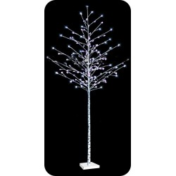 """LED-""""Берёзка белая"""", высота 2.5м, 144 светодиода"""