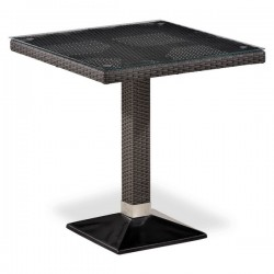 Стол из иск. ротанга T505SWT-W2390-70х70 Brown