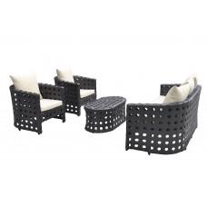 Дачная мебель KVIMOL KM-0008 Black