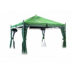 Шатер павильон Стокгольм 3,5х3,5 м зеленый