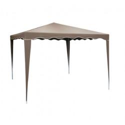 Садовый тент Норд 3х3 м коричневый сталь