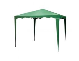 Садовый тент Норд 3х3 м зеленый сталь