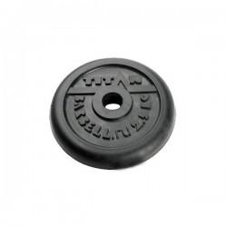Диск обрезиненный черный Titan Barbell d-26 2,5 кг