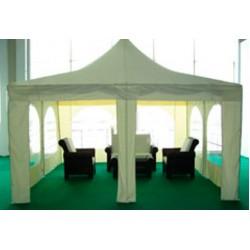 Тент шатер Пагода 4x4 м бежевый ПЭ