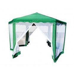 Тент шатер шестиугольный 2х2х2 м зеленый