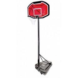 Баскетбольная стойка ZY-019 красный щит